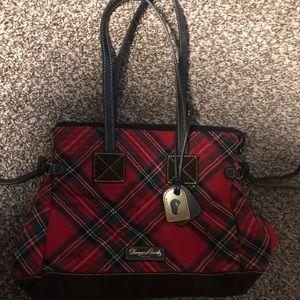 Dooney & Bourke plaid hand bag